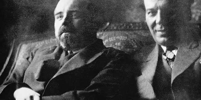 Miroslav Krleža i Branko Gavella na početku dugogodišnje suradnje u jugoslavenskim kazalištima