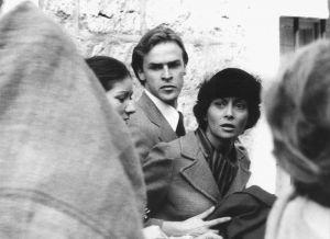Frano Lasić i Dušica Žegarac u filmu Okupacija u 26 slika