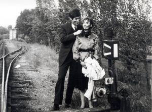 Ljubiša Samardžić i Dušica Žegarac u filmu Podne