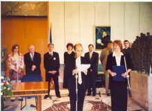 Dodela titule UNESKO katedre Katedri za kulturni menadžment i kulturnu politiku UU