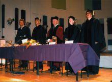 Dodela diploma Mastera kulturnog menadžmenta u Utrehtu