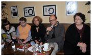 Slika sa promocije knjige u Podogorici – 20. novembra 2013.