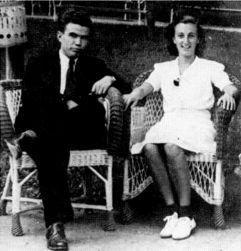 PRE RATA: Ivo Lola Ribar i Sloboda Trajković u Vrnjačkoj Banji 1939.