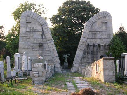 Bogdan Bogdanović, 'Spomenik ubijenim Jevrejima', Beograd