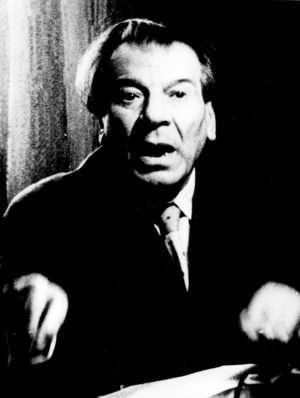 Branko Gavella na kraju karijere, kao profesor na zagrebačkoj Akademiji