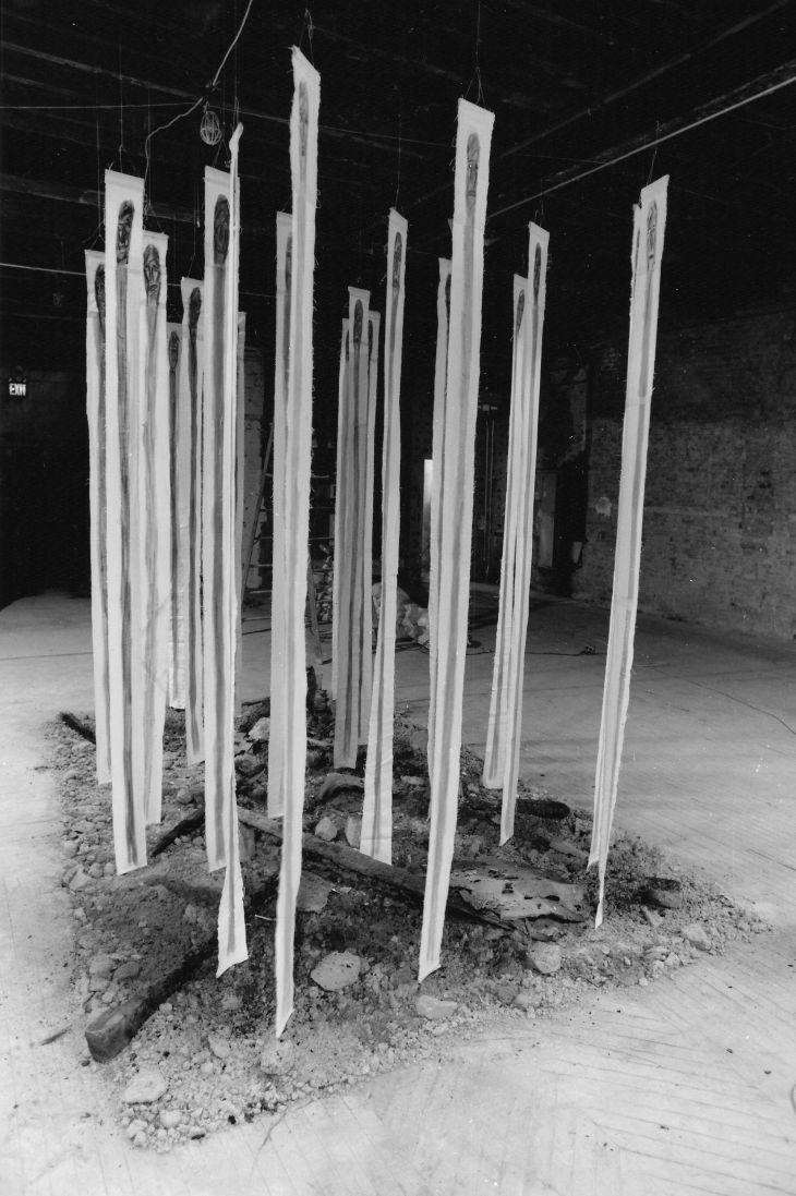 """Nusret Pašić ,,Svjedoci postojanja"""" New York, 1994."""