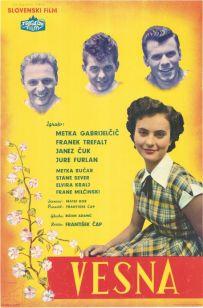 Film Vesna, plakat