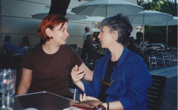 Elizabet Cimerman i Ivana Stefanović, Beč, maj 1998.