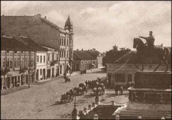 Pozorišni Trg, 1892. godina