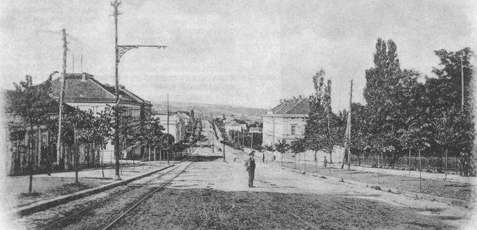 Ulica Kneza Miloša, 1895. godina
