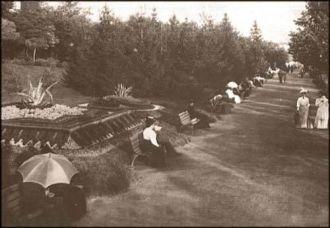 Kalemegdan šetalište, 1908. godina