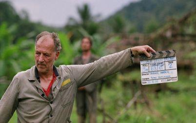 Werner Herzog na snimanju filma 'Rescue Dawn'