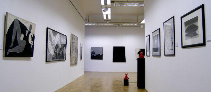 Interijer Umjetničke galerije Bosne i Hercegovine
