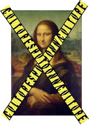 Mona Lisa Shutdown Credit & Montage: Azra Akšamija, 2013