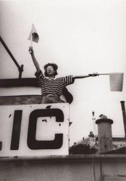 Pesnik na brodu Galeb Foto: Arhiva KPGT