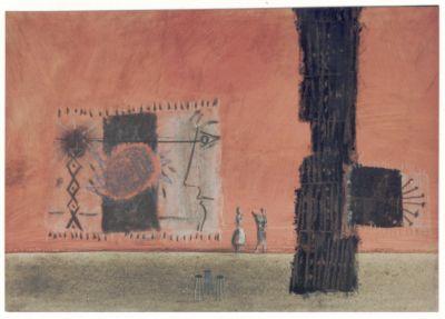 Scenska skica za Antigono