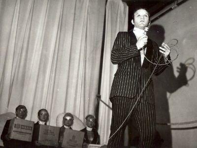 Peter Handke: Kaspar (v ospredju Kristijan Muck) Foto: Osebni arhiv Kristijana Mucka