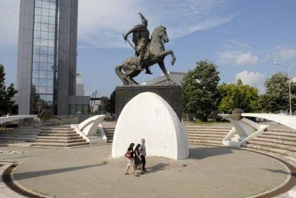 Spomenik Skender Beg, Priština